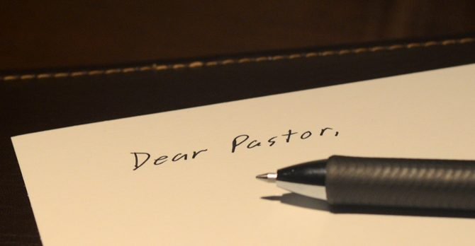 A Letter from an Unsatisfied Churchgoer