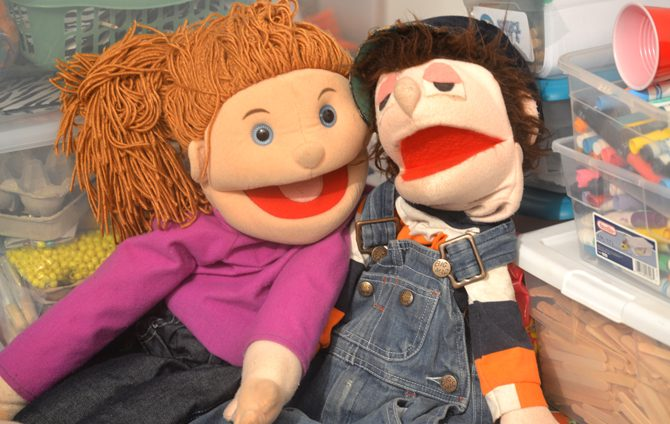 The Gospel in… a Puppet Story?